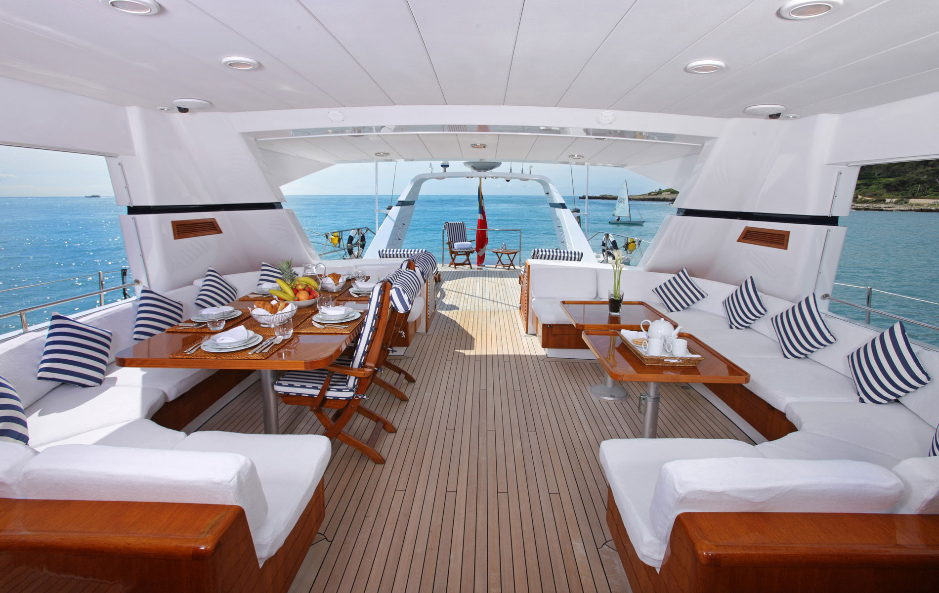 Upgrade your experience and live at ease while at sea